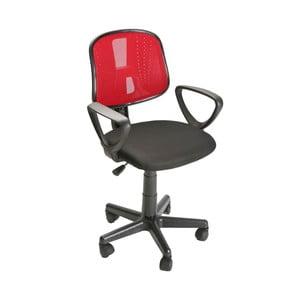 Červená kancelářská židle na kolečkách Versa Office