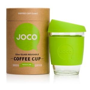 Cestovní hrnek na kávu Joco Cup 340 ml, limetkový