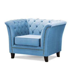 Modré křeslo Wintech Newport