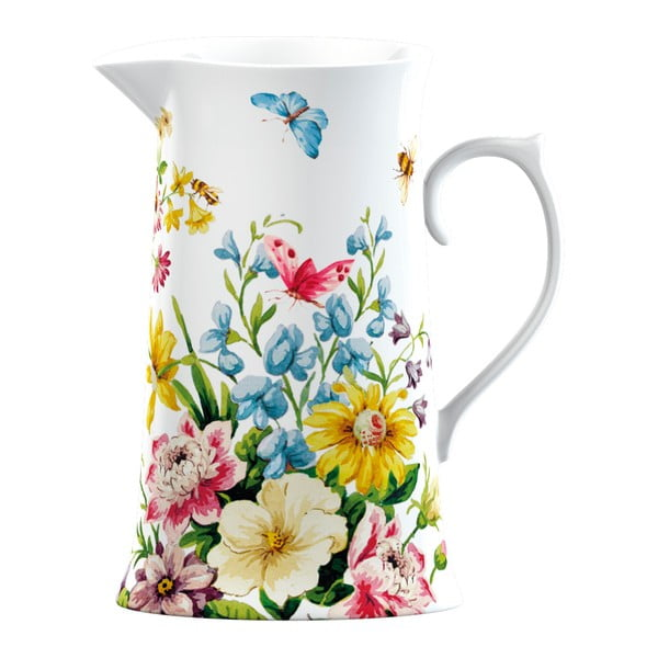 Porcelánový džbán Katie Alice English Garden, 950 ml