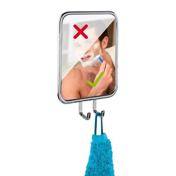 Samodržící zrcadlo s háčky Wenko Express-Loc