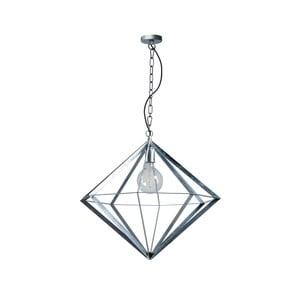 Kovové závěsné svítidlo ve stříbrné barvě ETH Spider