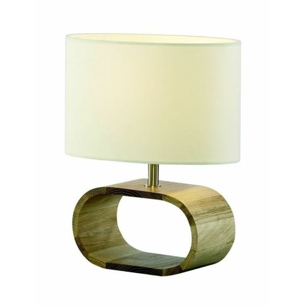 Stolní lampa Woodie White