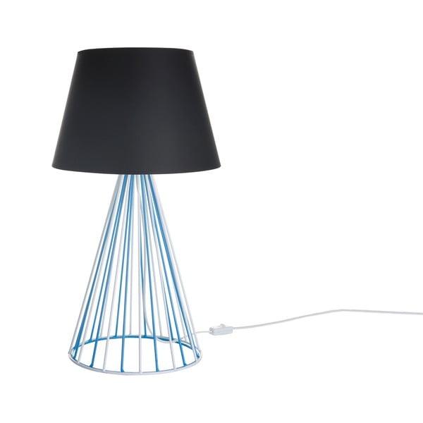 Stolní lampa Wiry Black/Blue