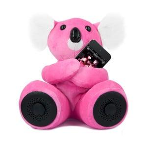 Koala hi-Koali s vestavěným reproduktorem, růžová
