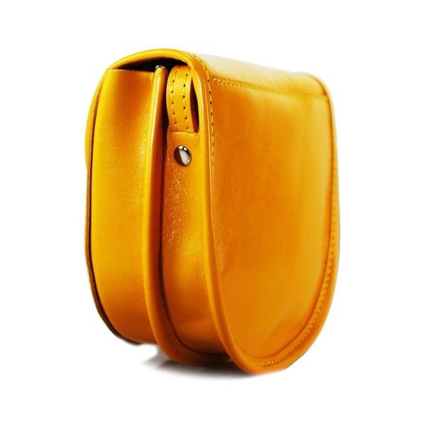 Kožená kabelka Pisa Giallo