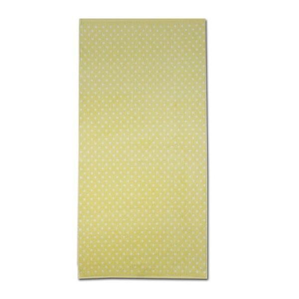 Ručník Nostalgie Yellow, 80x160 cm