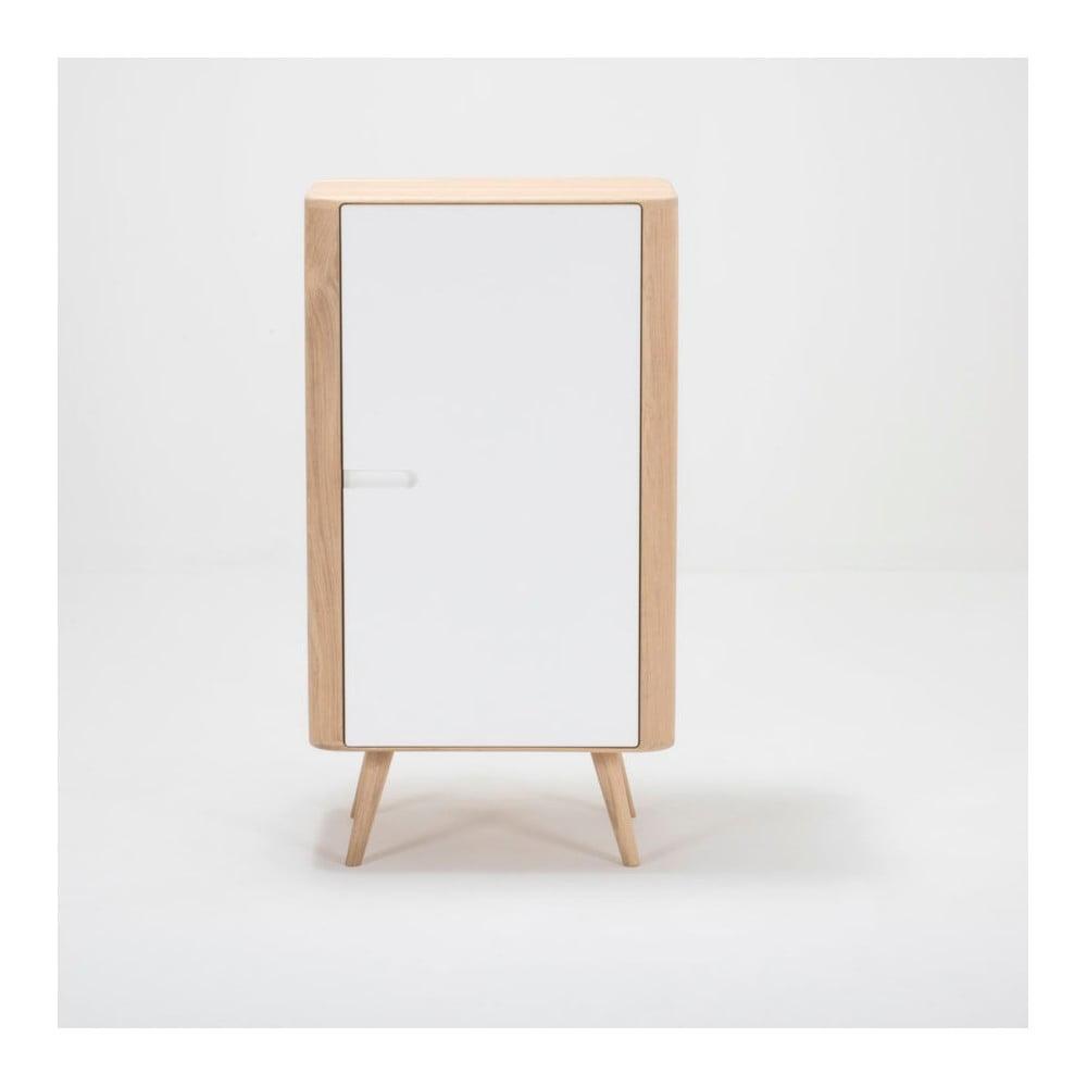 Skříňka z dubového dřeva Gazzda Ena, 60 x 110 cm