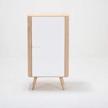 Dulap din lemn de stejar Gazzda Ena, 60 x 110 cm