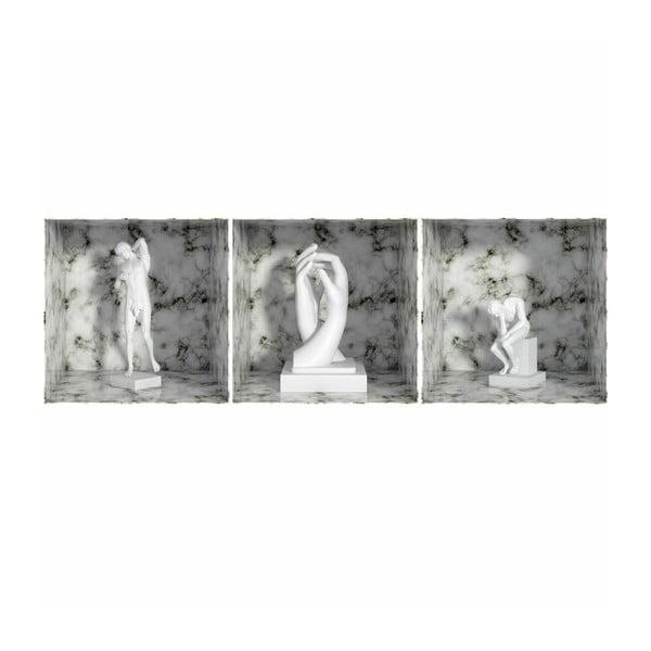 Samolepka Rodin Statue