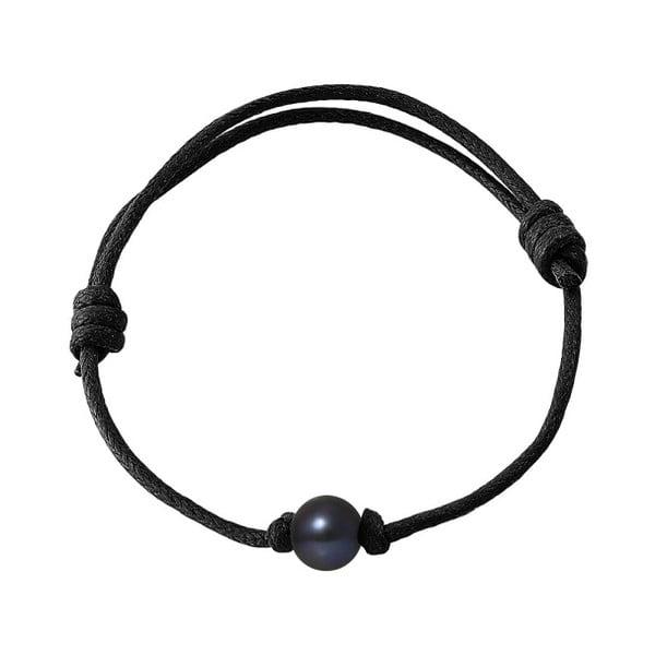 Náramek s říčními perlami Leandros