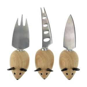 Set 3 cuțite pentru brânză Incidence Mouse