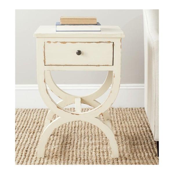 Noční stolek Safavieh Maxine, vintage