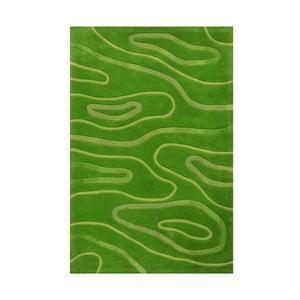 Ručně tkaný koberec Phoenix, 120x180 cm, zelený
