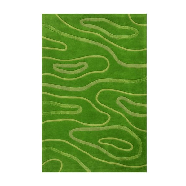 Koberec Phoenix 140x200 cm, zelený