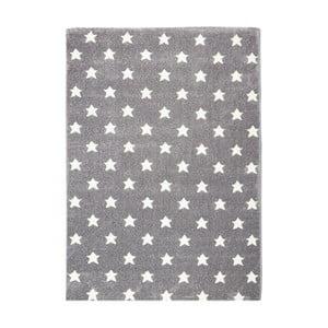 Šedý dětský koberec Happy Rugs Stardust, 80x150cm