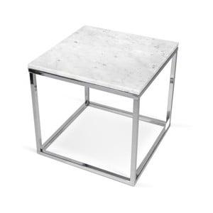 Bílý stolek TemaHome Prairie Marble