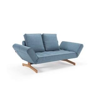Modrá polohovatelná lenoška Innovation Chia