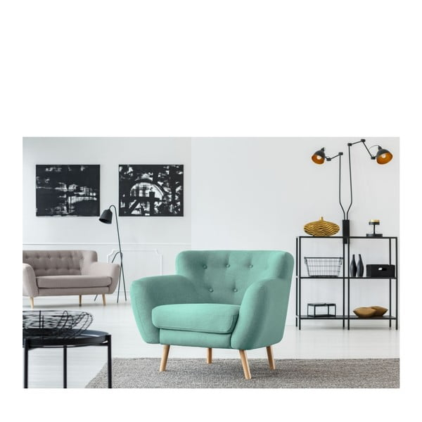 Zelené křeslo Cosmopolitan design London