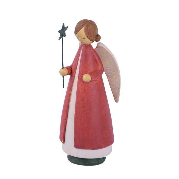 Karácsonyi angyal dekoráció, magasság 21 cm - Ego Dekor