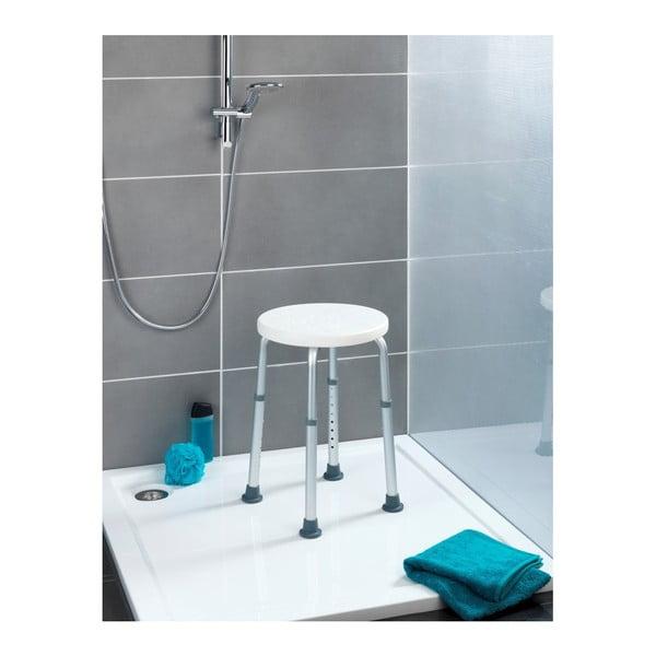 Vysoká bezpečnostní stolička s opěradlem do sprchy pro seniory Wenko Secura