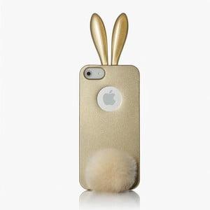 Rabito obal na iPhone 5 Bling Bling, zlatý
