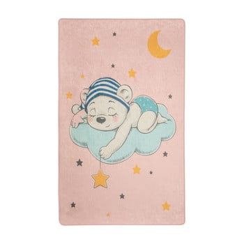 Covor copii Pink Sleep, 140 x 190 cm