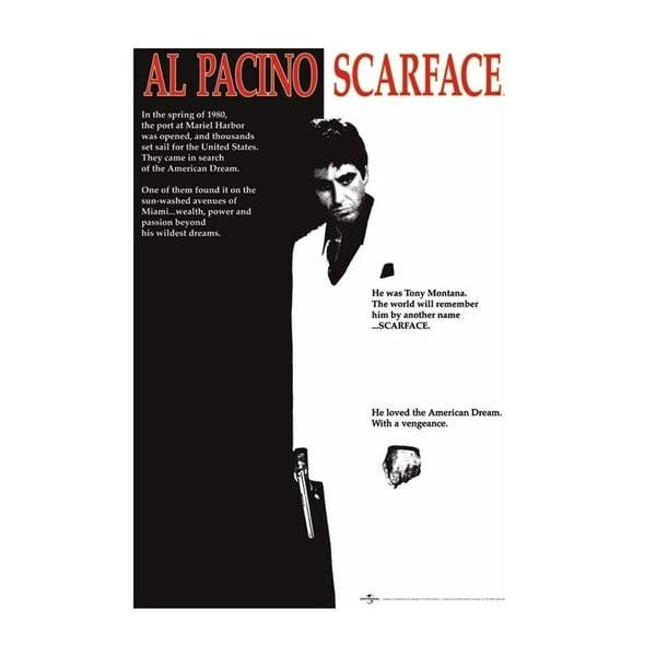 Zarámovaný obraz Al Pacino, 91x61 cm