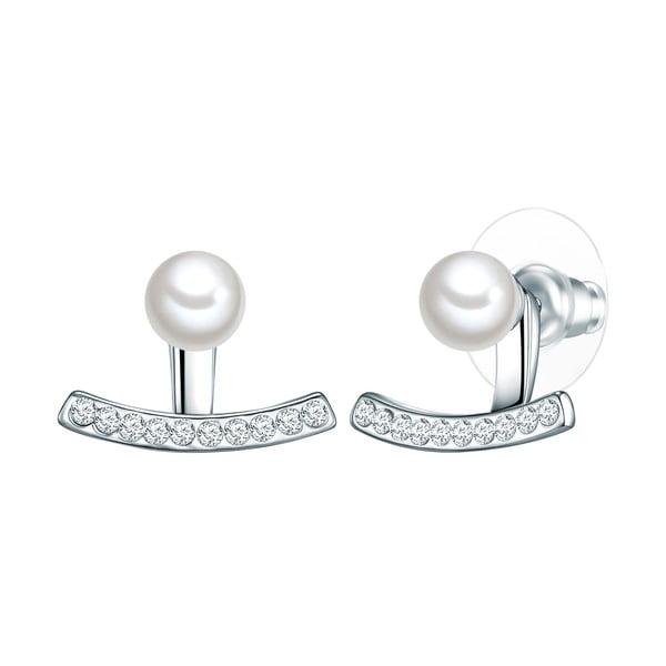 Perlové náušnice Perldesse Iri, perla,⌀0,6cm