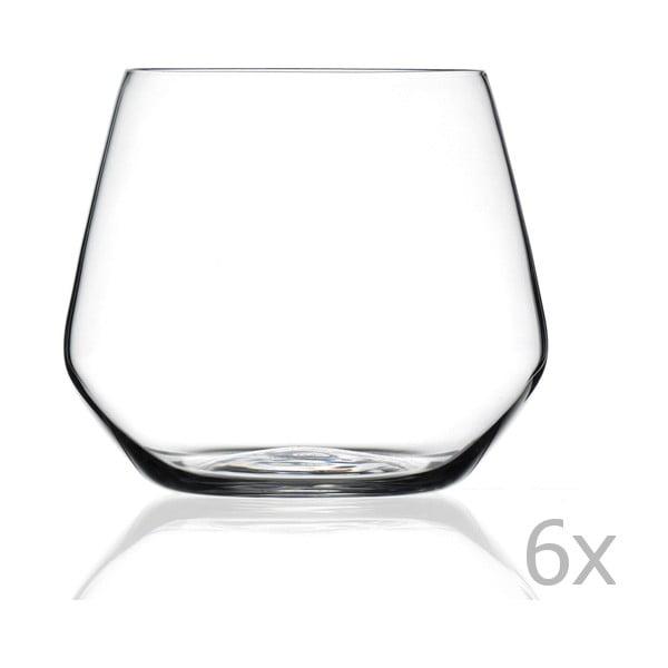 Set 6 pahare RCR Cristalleria Italiana Ambra