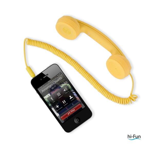 Kouzelné sluchátko hi-Ring mini, žlutá