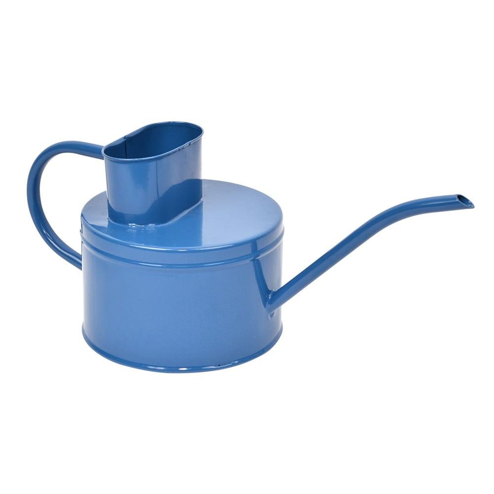 Tmavě modrá kovová konvička na zalévání Esschert Design Gardener