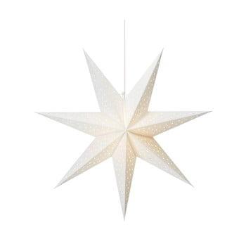 Decorațiune luminoasă suspendată Markslöjd Clara, ø 75 cm, alb imagine