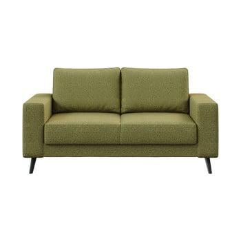 Canapea Ghado Fynn, 168 cm, verde măslină