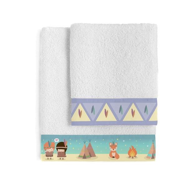 Set osušky a ručníku Happynois Indian Night