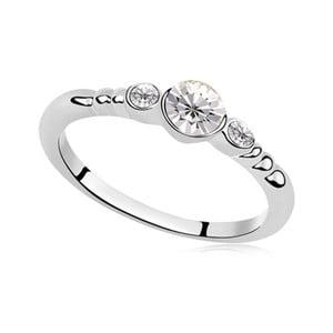 Prsten s krystaly Swarovski Catherine Truth, velikost 54