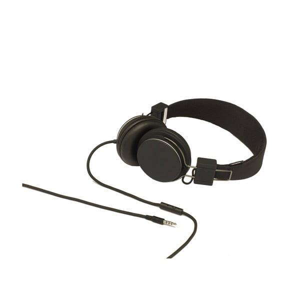 Sluchátka Plattan Black + sluchátka Medis Olive ZDARMA
