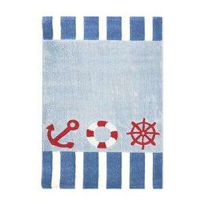 Modrý dětský koberec Happy Rugs Little Captain, 120x180cm