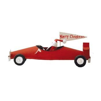 Decorațiune pentru Crăciun G-Bork Santa In Car imagine