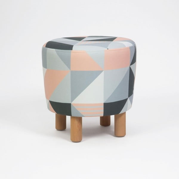 Cono Tepe ülőke fa lábakkal, ⌀ 41 cm