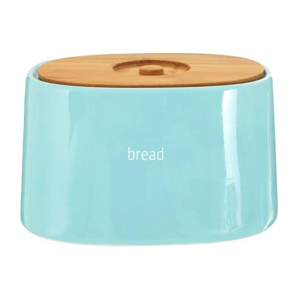Fletcher kék kenyértartó bambusz fedéllel, 800 ml - Premier Housewares