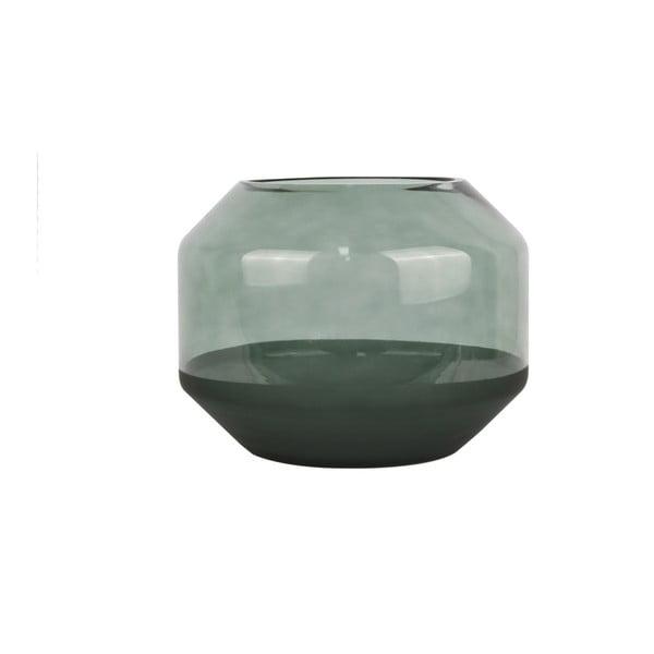Zelená skleněná váza PT LIVING Majestic, ⌀20cm
