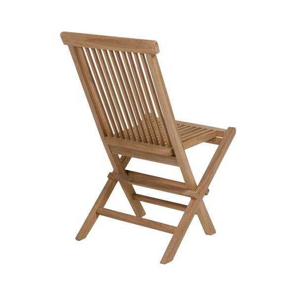 Set 2 scaune și masă din lemn de tec Santiago Pons Taar