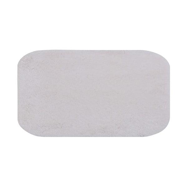 Biały dywanik łazienkowy Confetti Bathmats Miami, 80x140cm