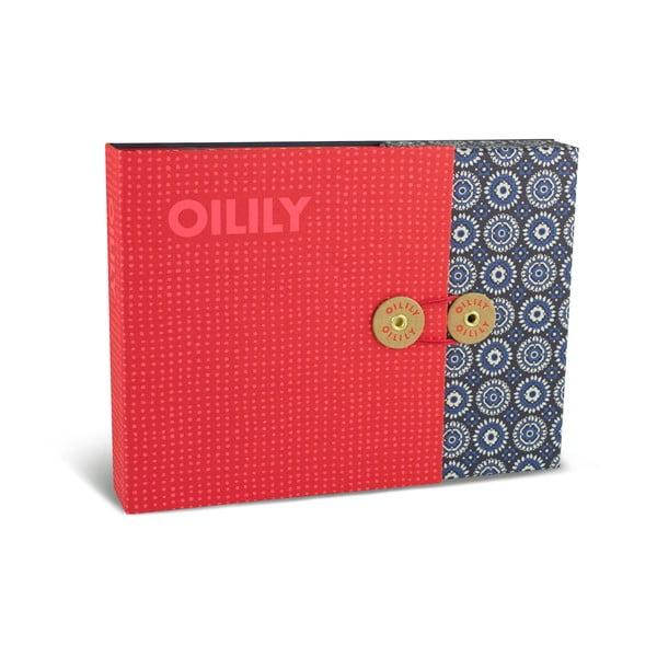 Sada 15 komplimentek a obálek v boxu Portico Designs Oilily
