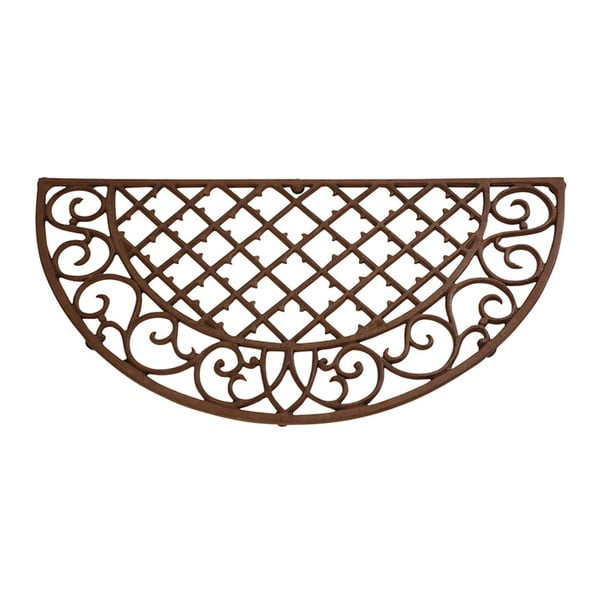 Liatinová rohožka Esschert Design Picnic, šírka 67,5 cm