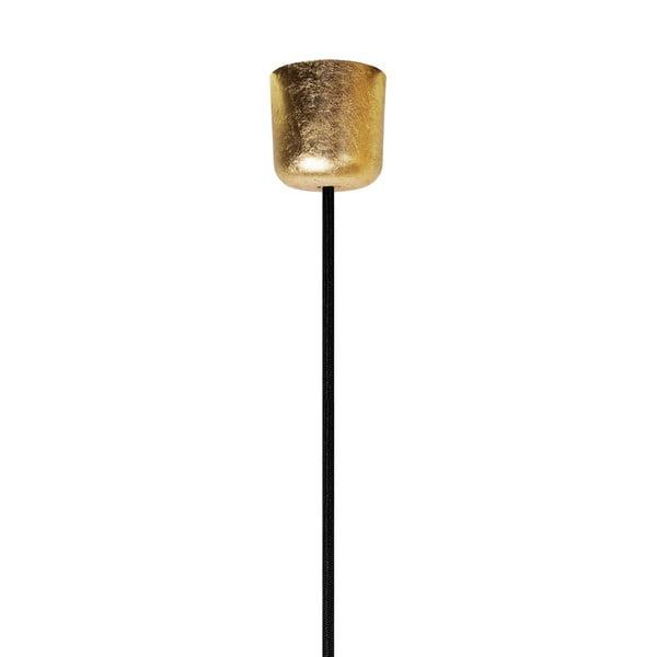 Černo-zlatý závěsný kabel Bulb Attack Cero