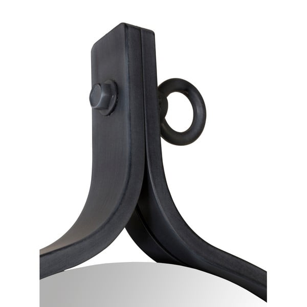 Zrcadlo v černém rámu Dutchbone Attractif, šířka60cm