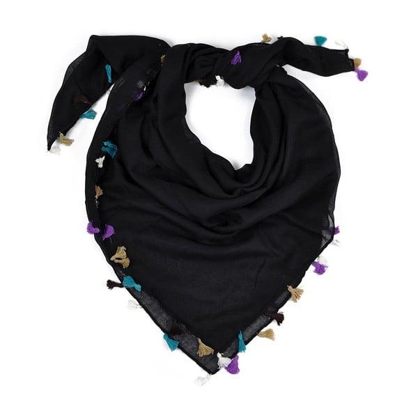 Šátek Magda Black