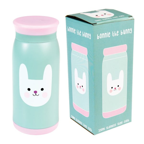 Bonnie the Bunny rozsdamentes acél vizespalack, 350 ml - Rex London